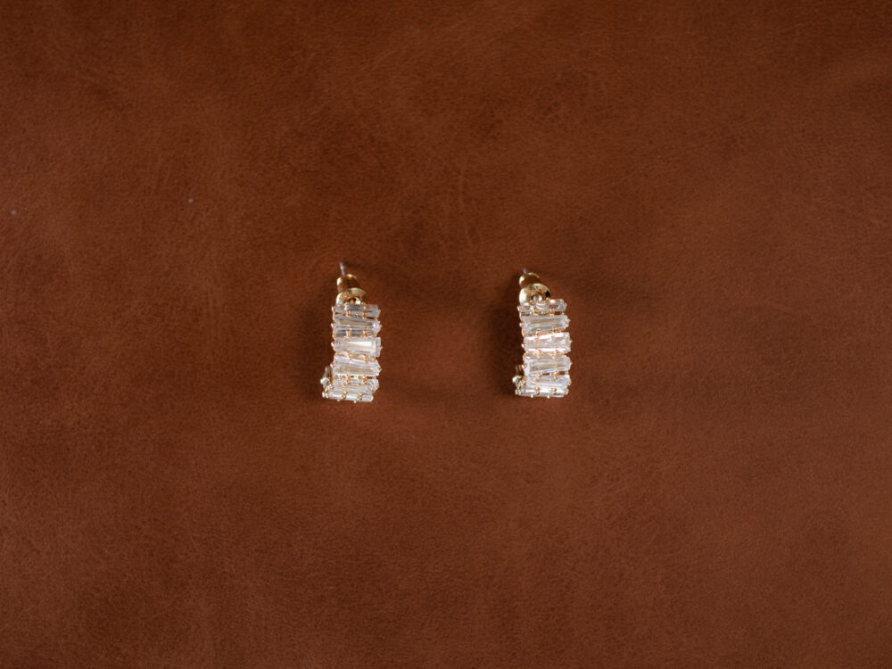 Sam and Franki Taylor Crystal Earrings