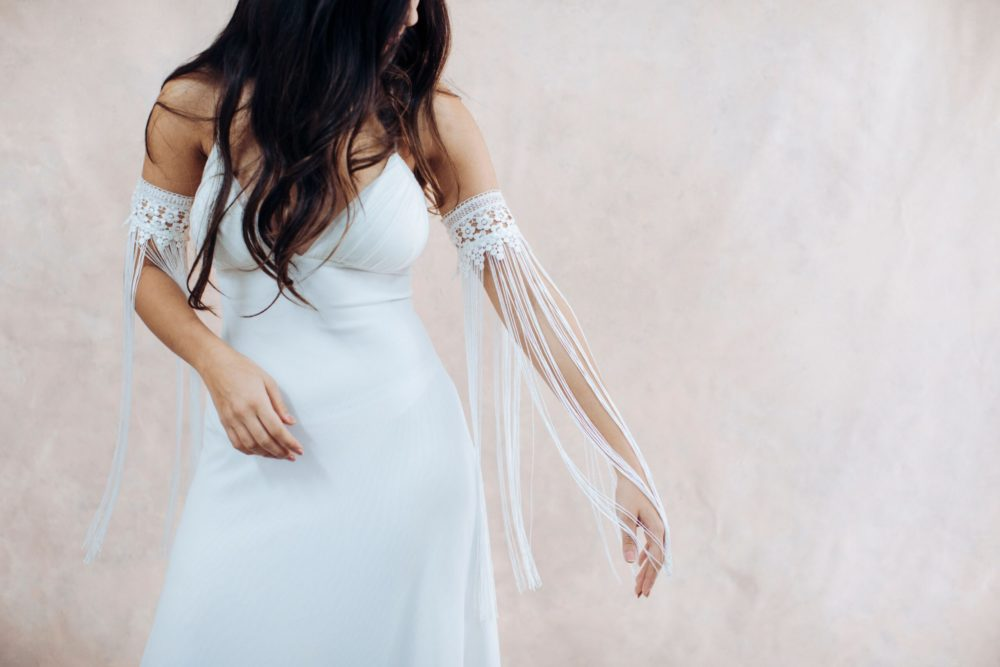 Fringe Arm bracelet - bridal collection Arm bracelet - Sharon Guy Studio