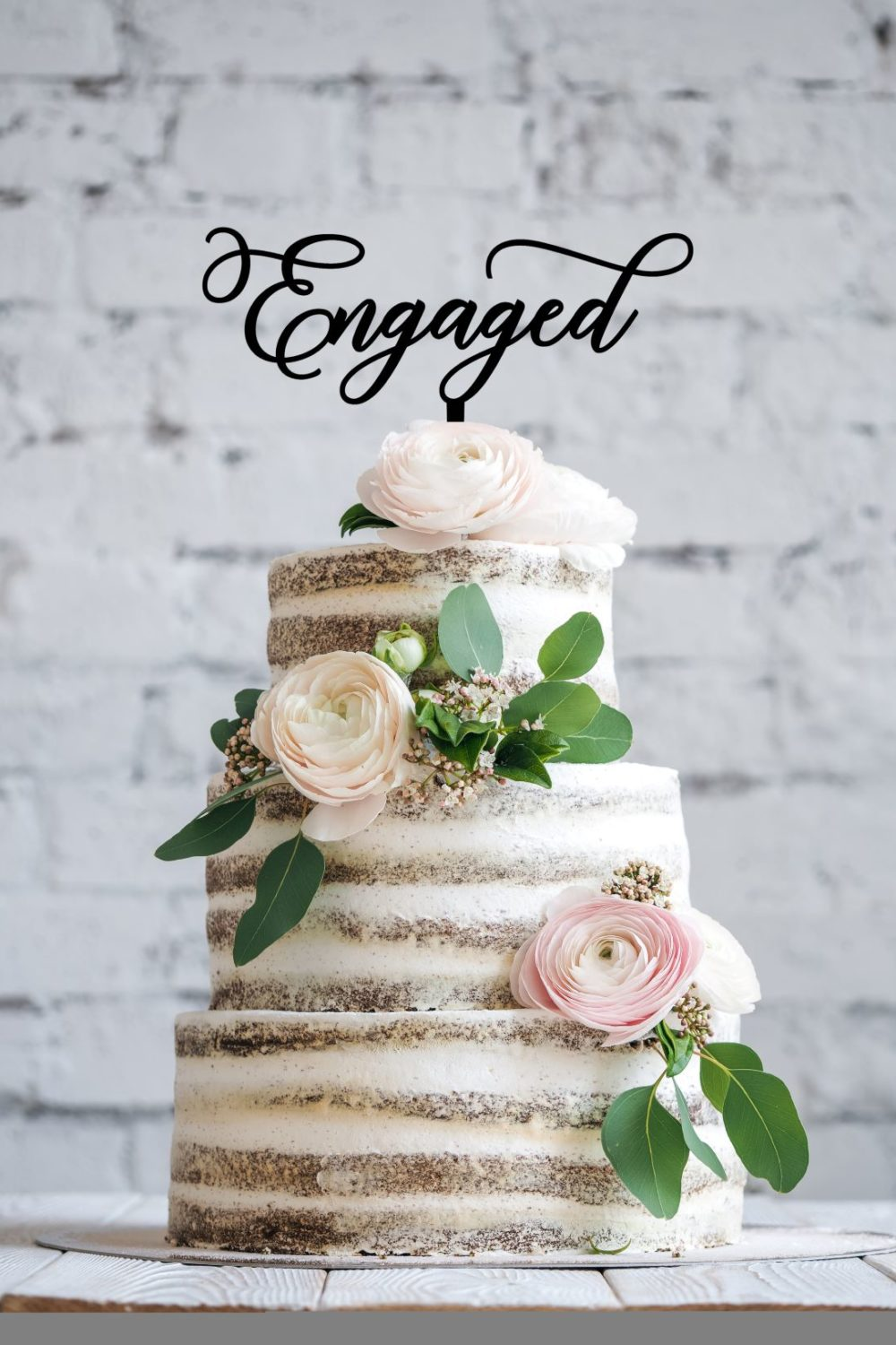 engaged wedding cake topper australia